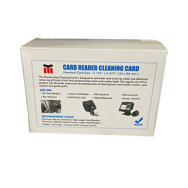 card reader from McDermid Paper