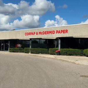 McDermid Paper Converters Exterior in Markham, Ontario