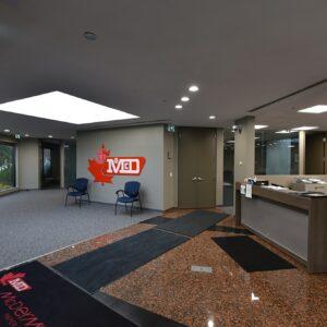 McDermid Paper Converters interior in Markham, Ontario