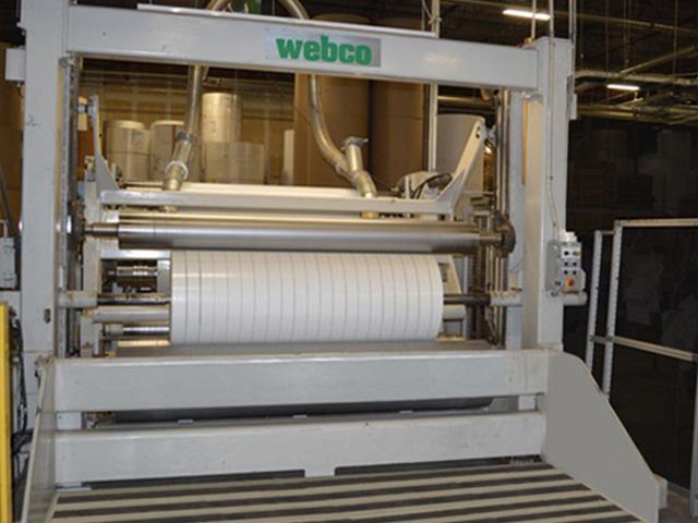 webco paper roller
