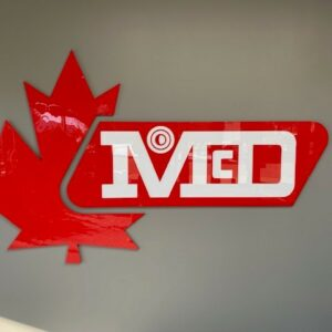 McDermid Paper Sign