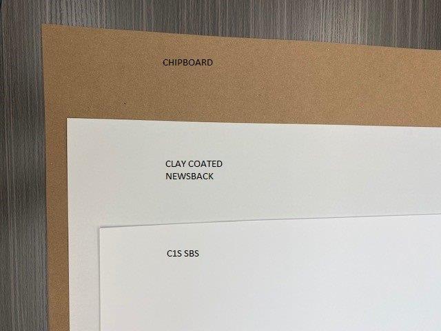 Folding Carton Grades